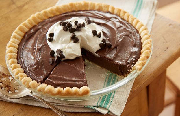 HERSHEY'S Gone to Heaven Chocolate Pie will blow you away!