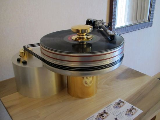 Sell your house. Buy this $ 150K turntable.