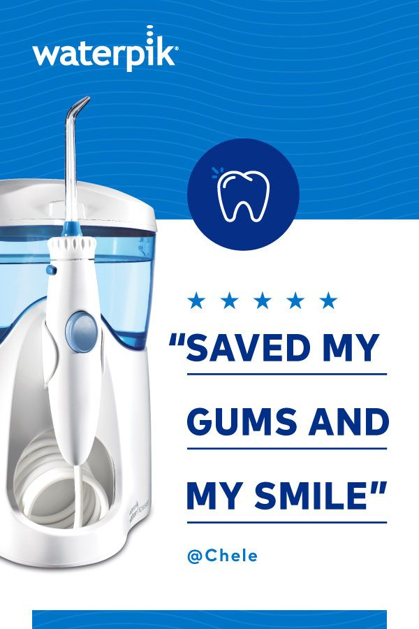 Waterpik® Water Flossers to the rescue! Learn why so many