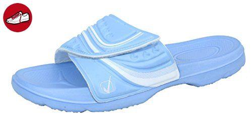 Bockstiegel Damen Badepantolette Steffi, Farbe:hellblau, Größe:36 - Bockstiegel schuhe (*Partner-Link)