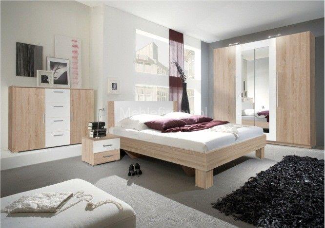 Chambre A Coucher VICTORIA (blanc\/ fushia ) Décoration Pinterest - günstige komplett schlafzimmer