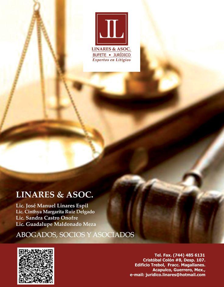 Linares y asociados.  Bufete jurídico. Expertos en litigios.