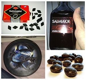 Salty liquorice, also known as salmiakki  is a variety of liquorice flavoured…