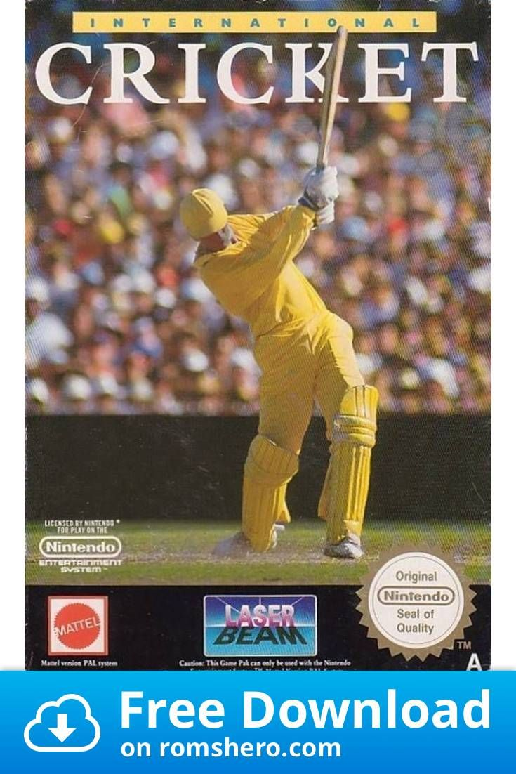 Download International Cricket Nintendo Nes Rom In 2020