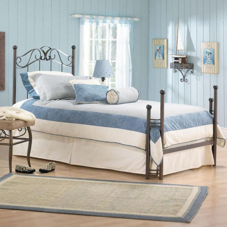 Attractive Girl Decorating Room Ideas : Attractive Retro Blue Bedroom Ideas  Teenage Girl