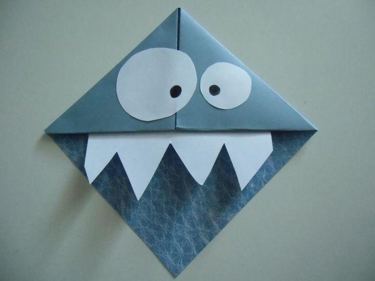 Fiche créative: Marque-page monstre DIY