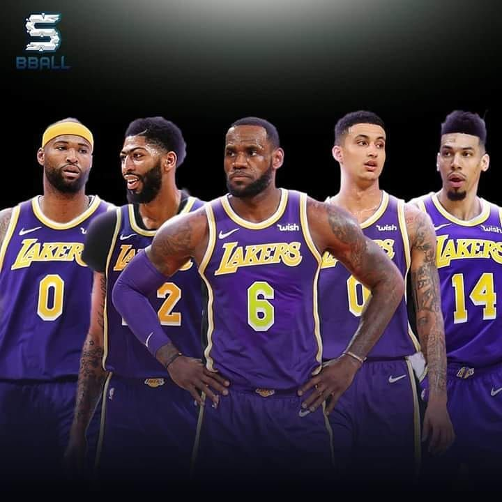 "Lebron James fan on Instagram: ""Lakers starting five next ..."