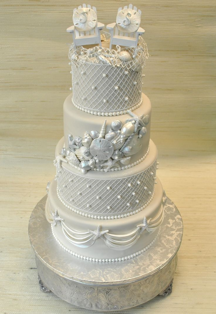 elegant beach themed wedding cakes theme wedding cake by thecakezone www 13956