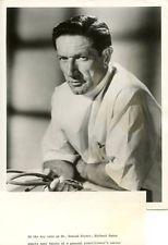 RICHARD BOONE PORTRAIT MEDIC ORIGINAL 1954 NBC TV PHOTO