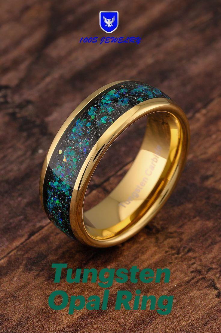 Tungsten Wedding Rings For Men Women Anniversary Rings