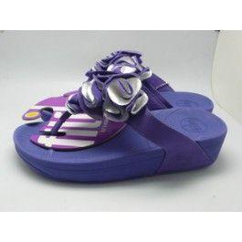 Latest Frou Flower Fitflop--Blue Purple