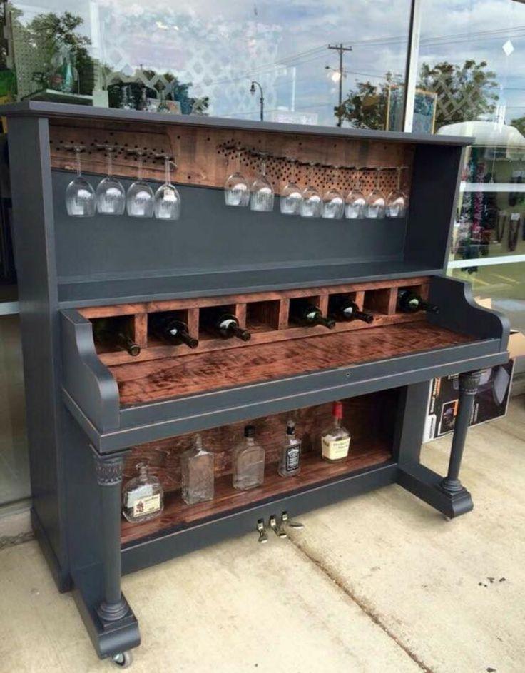 DIY piano bar #inlove