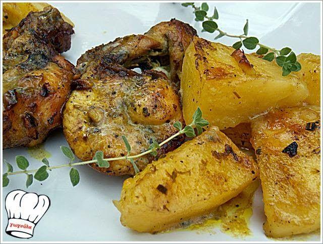 ΚΟΤΟΠΟΥΛΟ ΦΟΥΡΝΟΥ ΜΕ ΠΟΡΤΟΚΑΛΙ !!!   Νόστιμες Συνταγές της Γωγώς