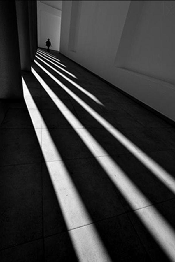 contrast ◈ photographies en noir et blanc clair obscur espace space