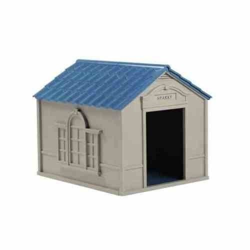 New extra large deluxe dog house durable easy to clean for Large breed dog house