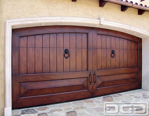 Mediterranean Garage Doors | Custom Handcrafted Architectural Overhead Doors mediterranean garage doors....can pass for mexican