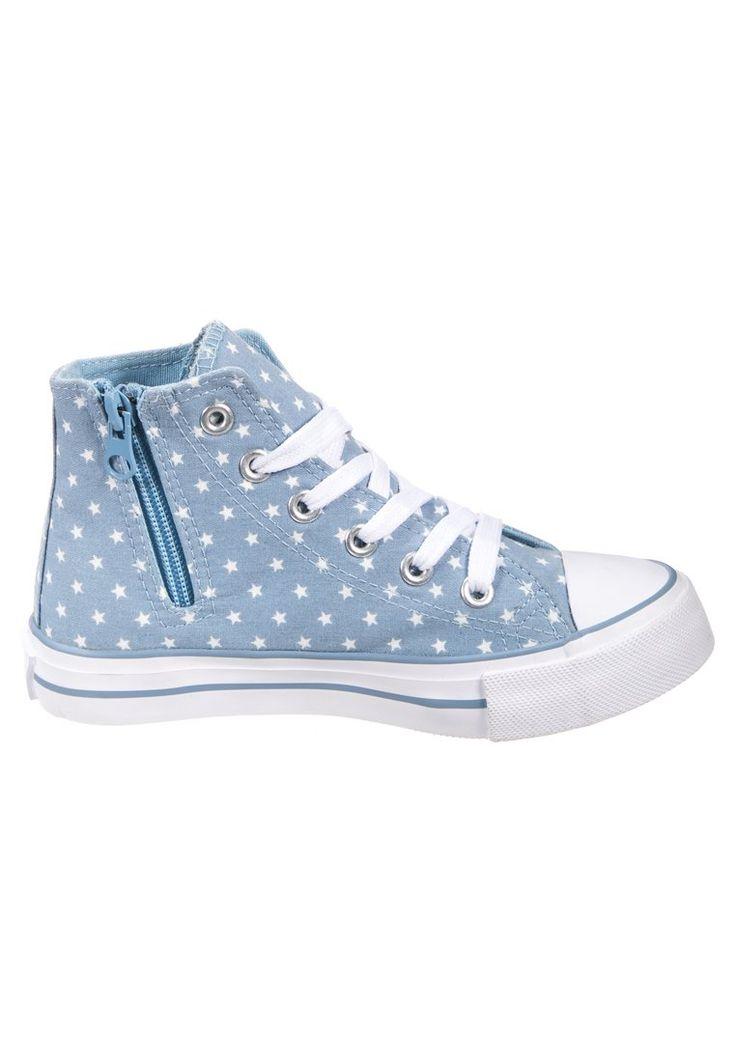 Friboo - Sneakers alte - celeste