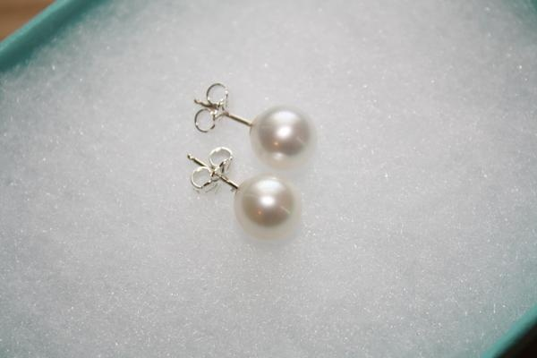 Tiffany Pearl Earrings, mason will hopefully get me these