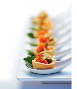 Salsa in mieliemeelkolwyntjies - Hierdie kolwyntjies met avokado, papaja, lemmetjie en brandrissie sal 'n vervelige spyskaart opkikker.