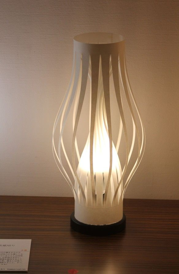 淡光紙のランプシェード:LED仕様耐水和紙加工・暗転時の自発光シェード ハンドメイド、手作り、手仕事品の通販・販売・購入ならCreema。