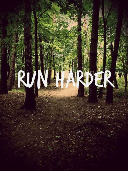 run harder | fitness inspiration motivation fitspiration health running jogging cardio womenswear fashion quote gymgear sportswear sports wear gym gear athletic Athleisure | Bayse Activewear Basics & Essentials