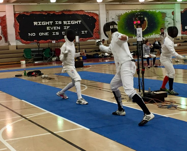 """Congratulations to DFC fencer Jimmy W on earning the bronze medal AND his """"B"""" rating in the Div IA men's event at the Midwest ROC/RJCC in Illinois. Very well fenced"""