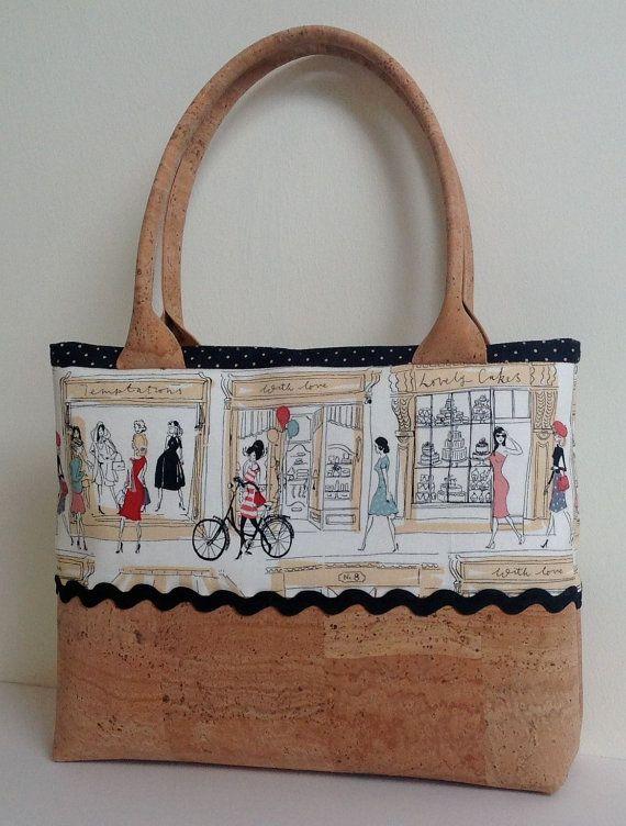 Cork and Cotton Natural Eco Friendly Handbag by MyCottonHouse