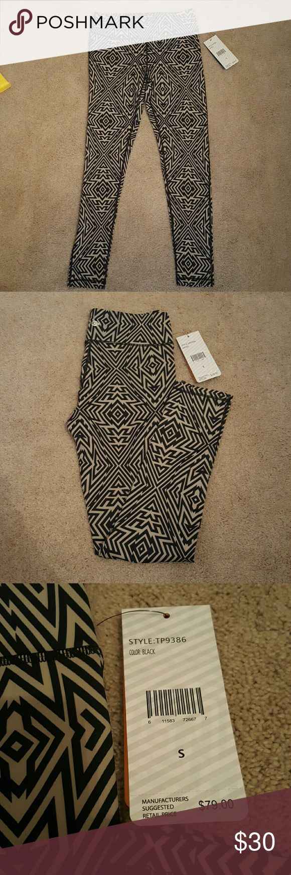 CLOSET CLEAN OUInner Spirit yoga/workout pants NWT Aztec print (black and tan) inner spirit yoga/workout pants. NWT Inner Spirit  Pants Leggings