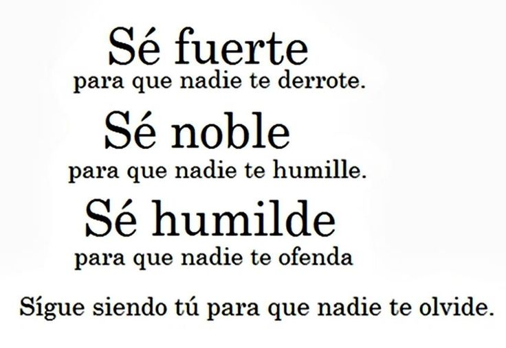 Spanish quote Nice quotes to inspire me Pinterest Tes, Search ...