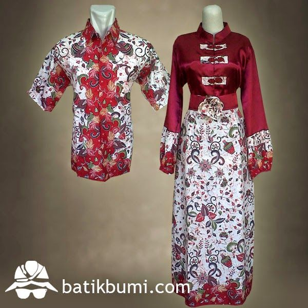 18 best Batik Sarimbit Gamis images on Pinterest  Kebaya
