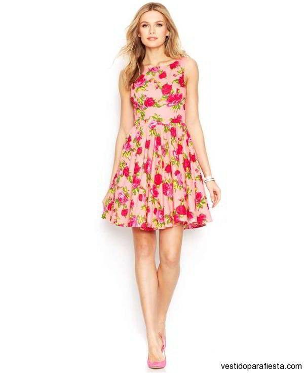 Vestidos cortos floreados para fiesta de dia primavera 2015 – 28 - https://vestidoparafiesta.com/vestidos-cortos-floreados-para-fiesta-de-dia-primavera-2015/vestidos-cortos-floreados-para-fiesta-de-dia-primavera-2015-28/