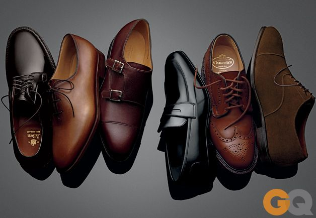 Six Shoes That Will Last a Lifetime / GQ Magazine August 2013