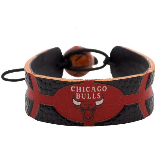 Chicago Bulls Team Color Basketball Bracelet