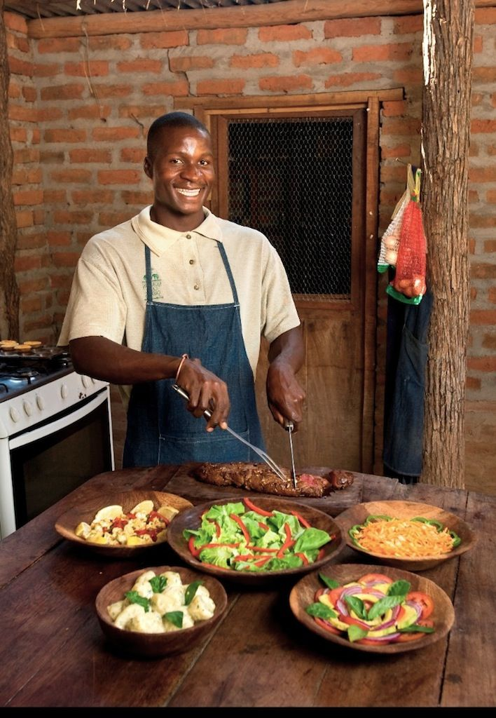 African cuisine prepared by personal chefs