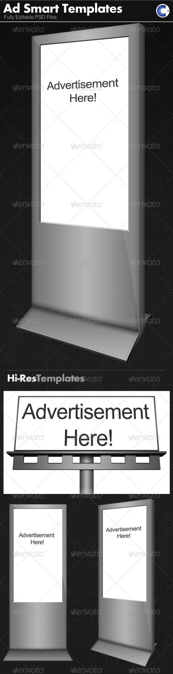 advertisement templates smart object graphicriver next time you advertisement templates smart object graphicriver next time you display a concept to a client