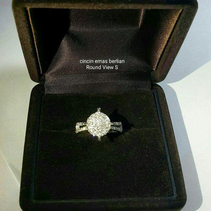 New Arrival🗼. Cincin Emas Berlian Round View s💍.   🏪Toko Perhiasan Emas Berlian-Ammad 📲+6282113309088/5C50359F Cp.Antrika👩.  https://m.facebook.com/home.php #investasi#diomond#gold#beauty#fashion#elegant#musthave#tokoperhiasanemasberlian