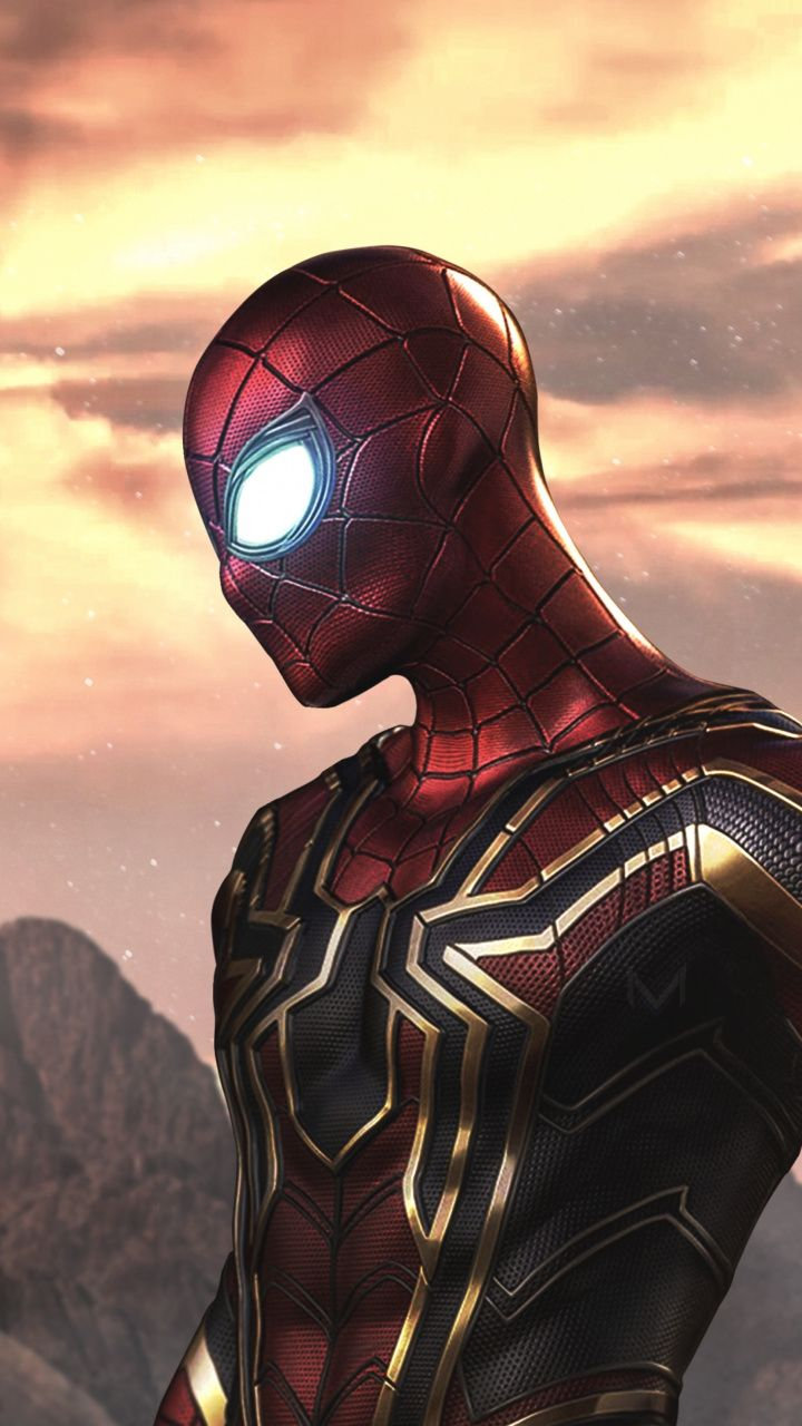 Artwork, ironspider, ironman, fan made art, 720x1280