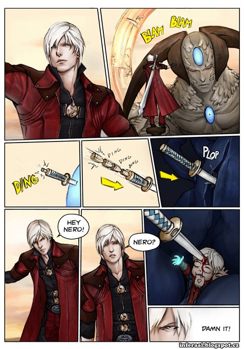 devil may cry anime funny - Google Search