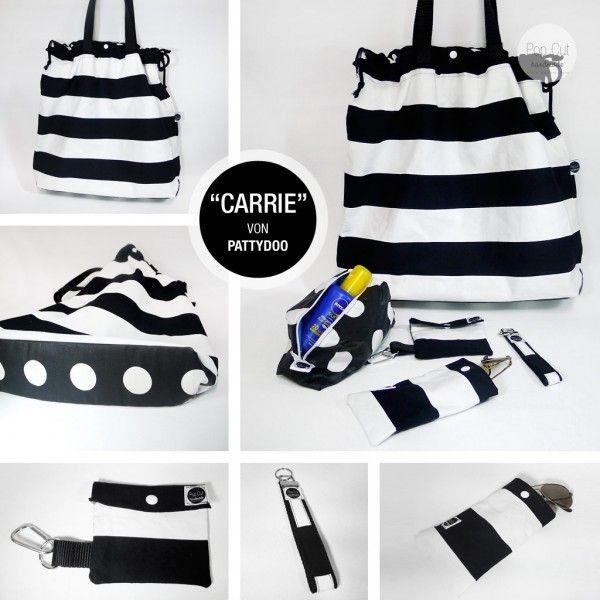 Strandtasche mit Accessoires - Handmade Kultur