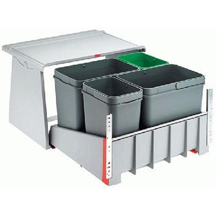 Franke Soft-close Kitchen Waste Sorter 700 M 45-Mybathroom.co.uk