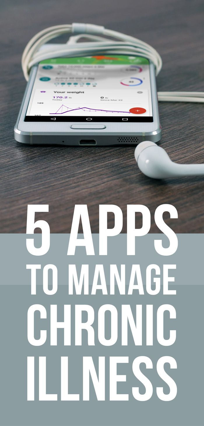 5 free apps for managing chronic illness