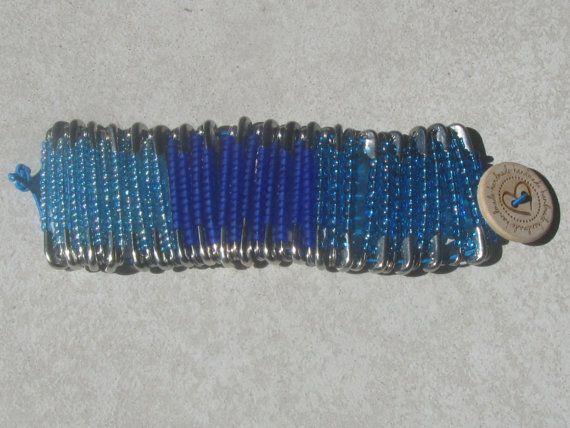 bracelet get into the blue di ilFilodiFranci su Etsy