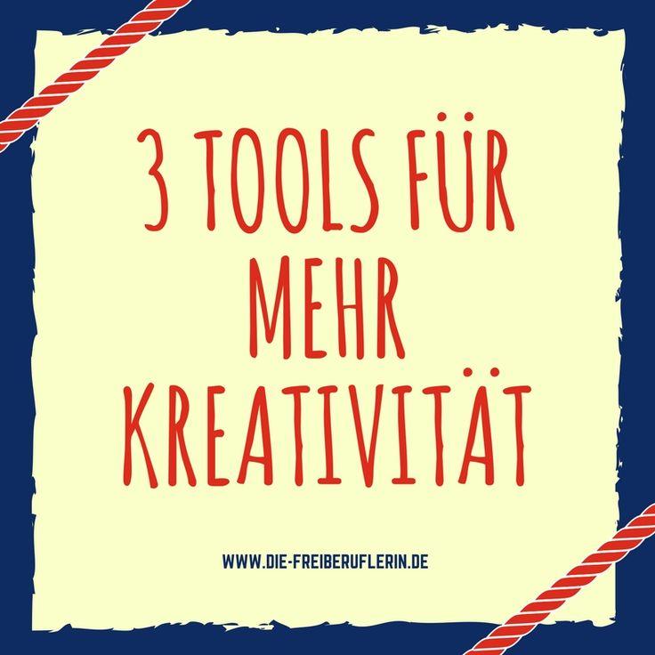 3 starke Tools, mit denen du 1.000 neue Ideen produzieren kannst!  #Blogpost-Ideen #Bloggen #Ideenfindung