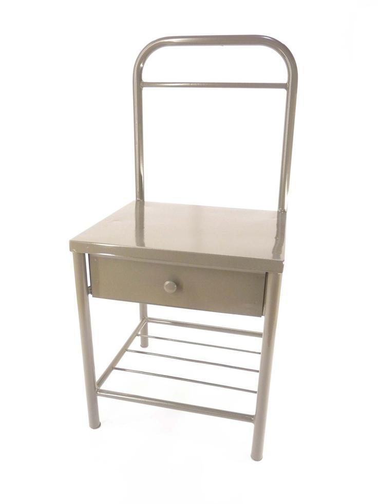 metallic nightstand/chair