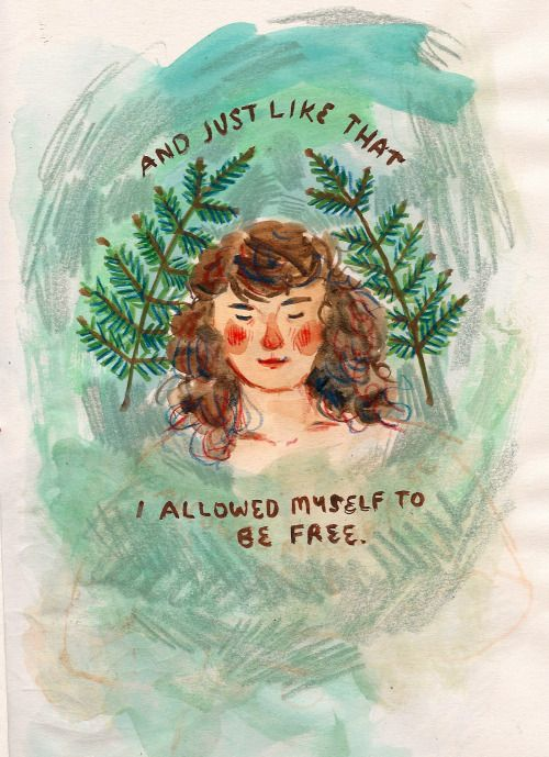 Some body positive art makes you feel warm inside, glowing and full. Check out this piece on brilliant artist, Phoebe Wahl Illustration, self-love, and liberation.