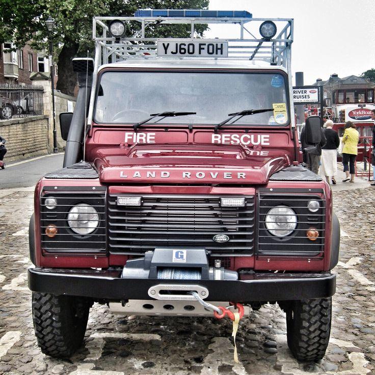 Landrover Fire & Rescue