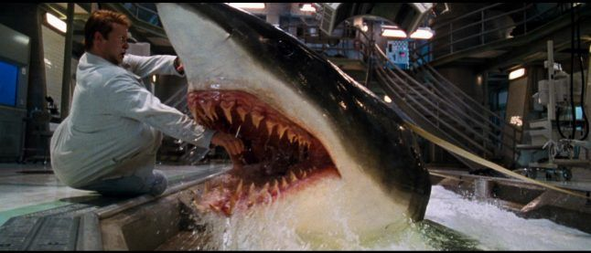 Deep Blue Sea Sequel Swimming to Syfy
