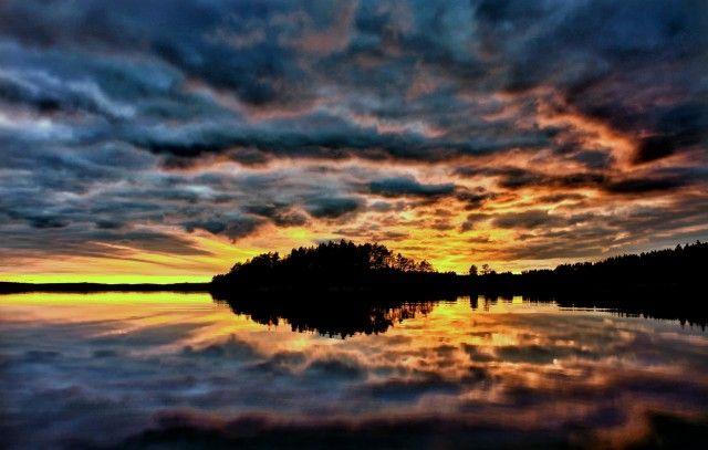 Кемиярви, Финляндия. Kemijärvi, Finland.