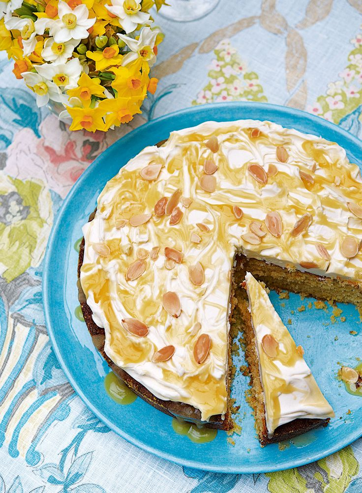 A rich, lemony cake that makes a perfect entertaining dessert. Serve at a special occasion or a dinner party.