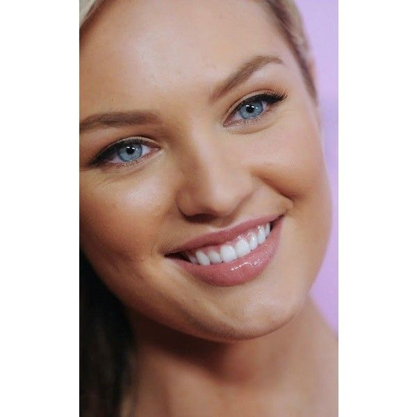 THE BEAUTY OF CANDICE SWANEPOEL FACE CLOSE UP  Candice Swanepoel Model... ❤ liked on Polyvore featuring beauty products